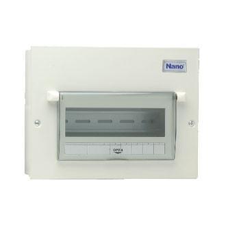 Vỏ tủ điện Nano NDP110 ( Tủ điện thép âm tường 10 nhánh MCB )