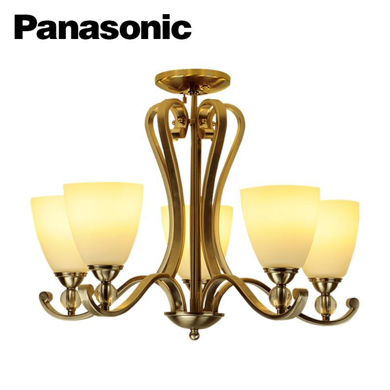 Đèn chùm Panasonic HH-LM500388 ( Đèn chùm treo trần 5 cánh E27 )