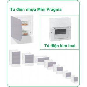 Vỏ tủ điện Schneider MIP22106 ( Tủ điện nhựa âm tường 6 nhánh MCB )