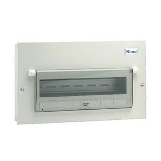 Vỏ tủ điện Nano NDP114 ( Tủ điện thép 14 nhánh MCB )