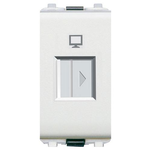 Ổ cắm vi tính Schneider 8431SRJ6-WE-G19 (  ổ cắm vi tính Zencelo A )