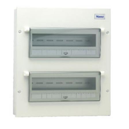 Vỏ tủ điện Nano NDP120 ( Tủ điện thép 20 nhánh )