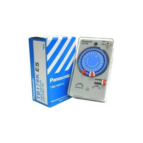 Công tắc hẹn giờ Panasonic TB-178K ( Công tắc đồng hồ Panasonic không có pin sạc )