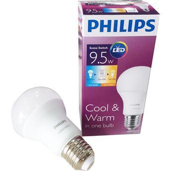 Bóng đèn Led Philips Scene switch 9,5W ( bóng đèn đổi màu )