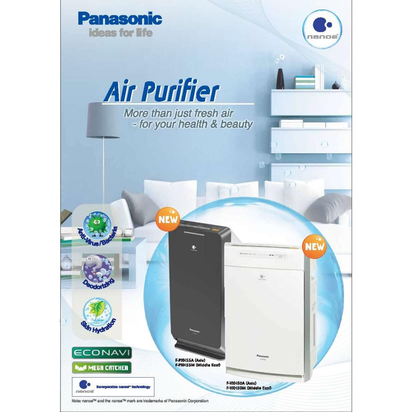 Máy lọc không khí Panasonic F-PXM55A ( Máy lọc khí bụi mịn PM2.5 cho phòng 42m2 )