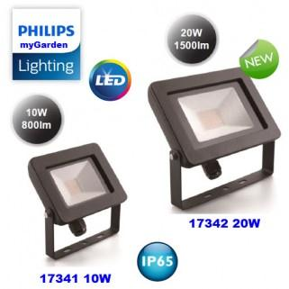 Đèn pha Led Philips 17341 10W ( Đèn led 10W kín nước IP65 )