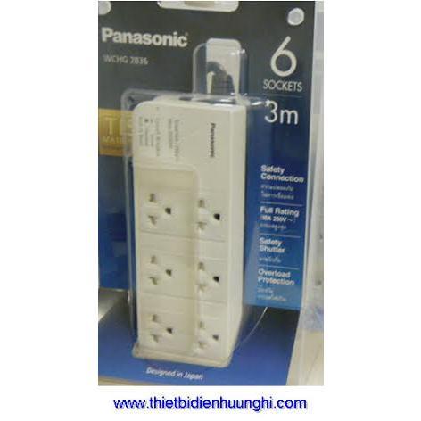 Ổ cắm điện Panasonic WCHG2836 ( Ổ cắm điện dây 3m)