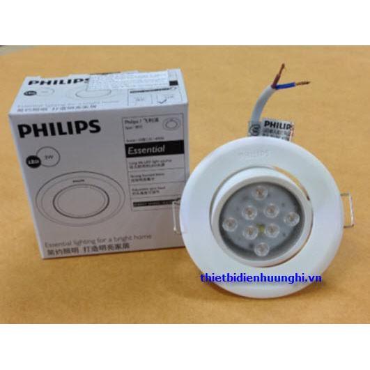 Đèn Led downlight Philips Essential 47042