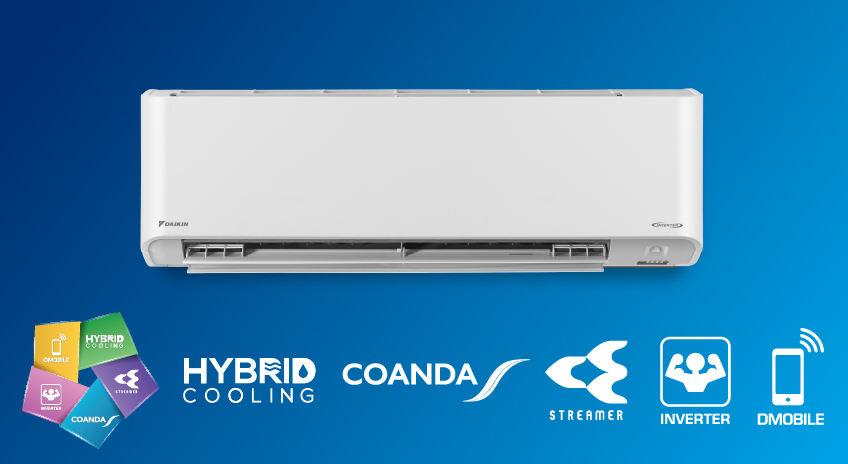 Máy điều hòa DAIKIN Inverter FTKZ35 ( R32 ) - Máy lạnh inverter Daikin FTKZ35 1,5HP cao cấp