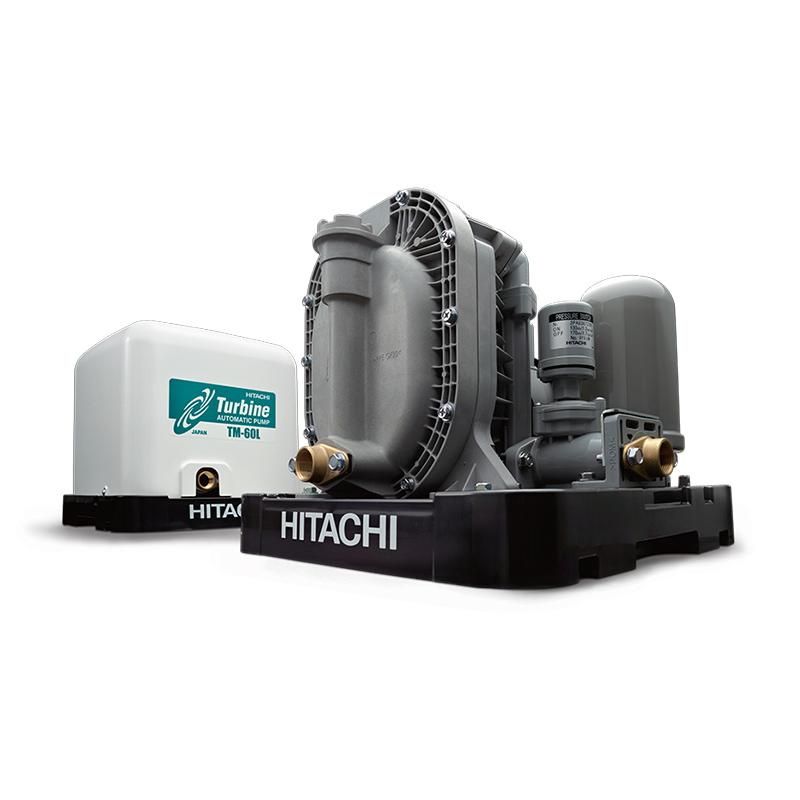 Máy bơm nước turbine Hitachi TM-60L 150W ( Máy bơm nước tăng áp Hitachi TM-60L 150W )