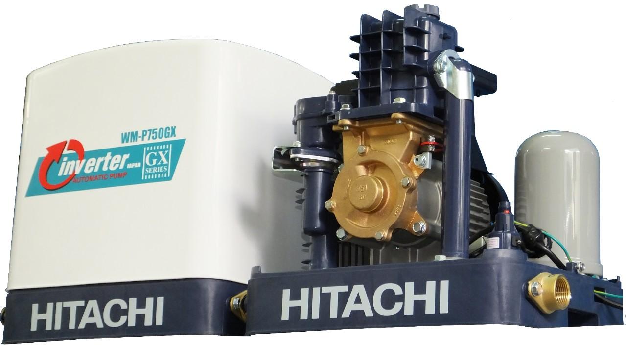 Máy bơm nước inverter Hitachi WM-P750GX 1HP - Máy bơm nước biến tần Hitachi WM-P750GX 750W