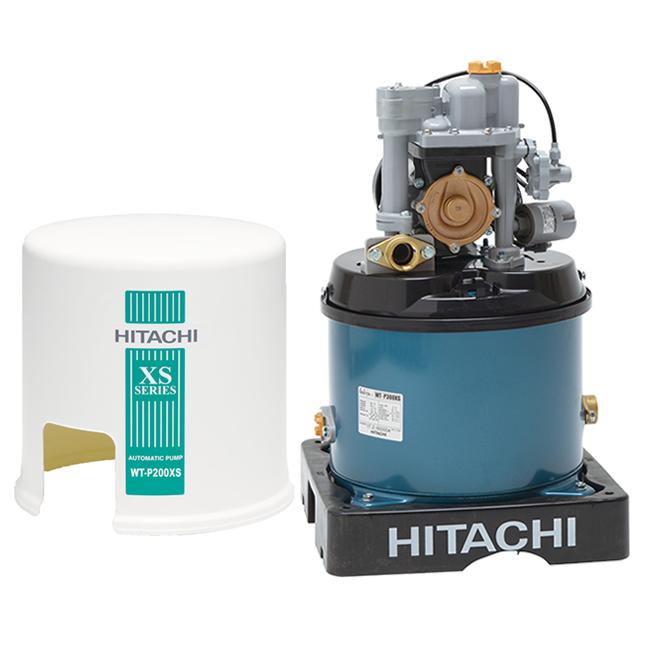 Máy bơm nước tăng áp Hitachi WT-P200GX2 ( Máy bơm nước tự động Hitachi 200W dạng tròn )