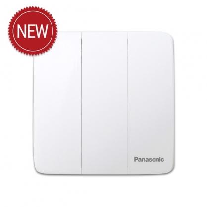 Công tắc điện Panasonic WMT506VN ( Bộ 3 công tắc điện 2 chiều dòng Minerva mặt vuông )