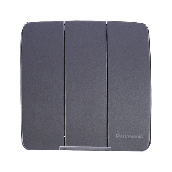 Công tắc điện Panasonic WMT505MYH-VN ( Bộ 3 công tắc điện 1 chiều dòng Minerva mặt vuông )