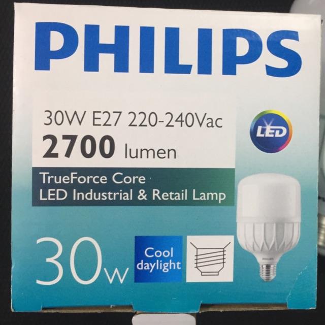 Bóng đèn led Philips TForce 30W ( Bóng led trụ Philips HB công suất 30W )