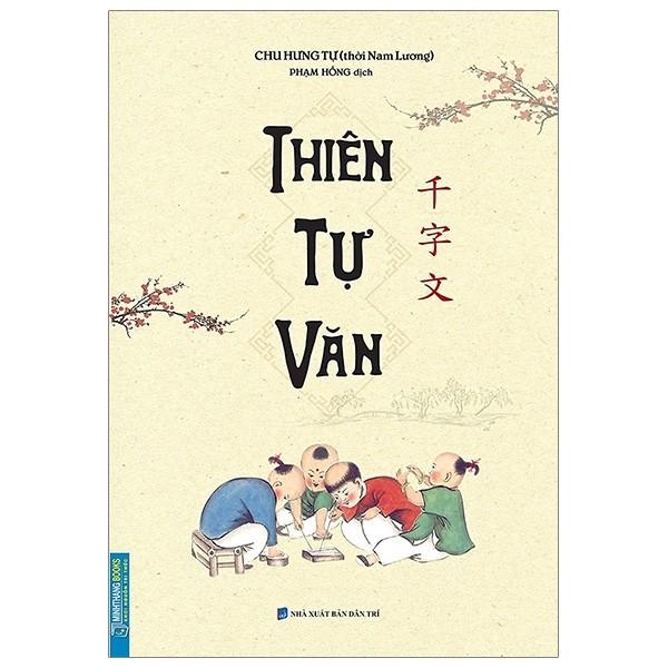 Sách Thiên Tự Văn (bìa mềm)