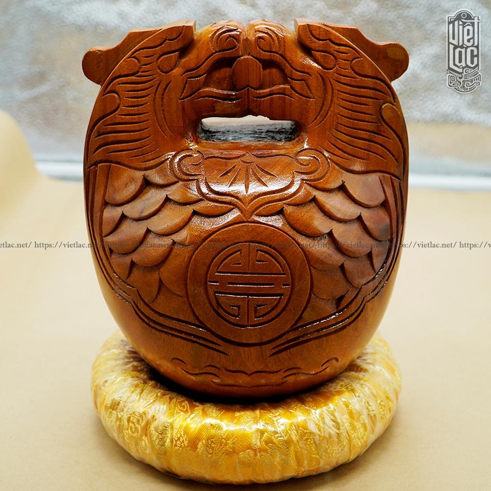 Mõ Huế 3 tay gỗ mít lõi