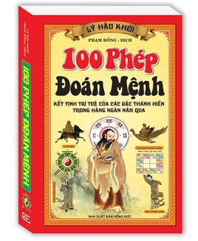 100 Phép Đoán Mệnh (bìa cứng)