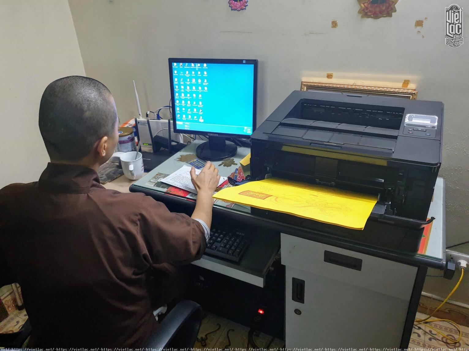 Máy in sớ chuyên dụng khổ dài VLC7 DSD