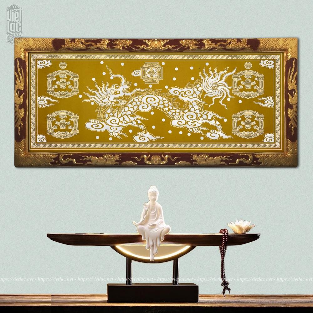 Khung sắc phong gỗ mít sơn son thiếp vàng