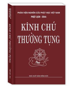Kinh Chú Thường Tụng (Bìa mềm)