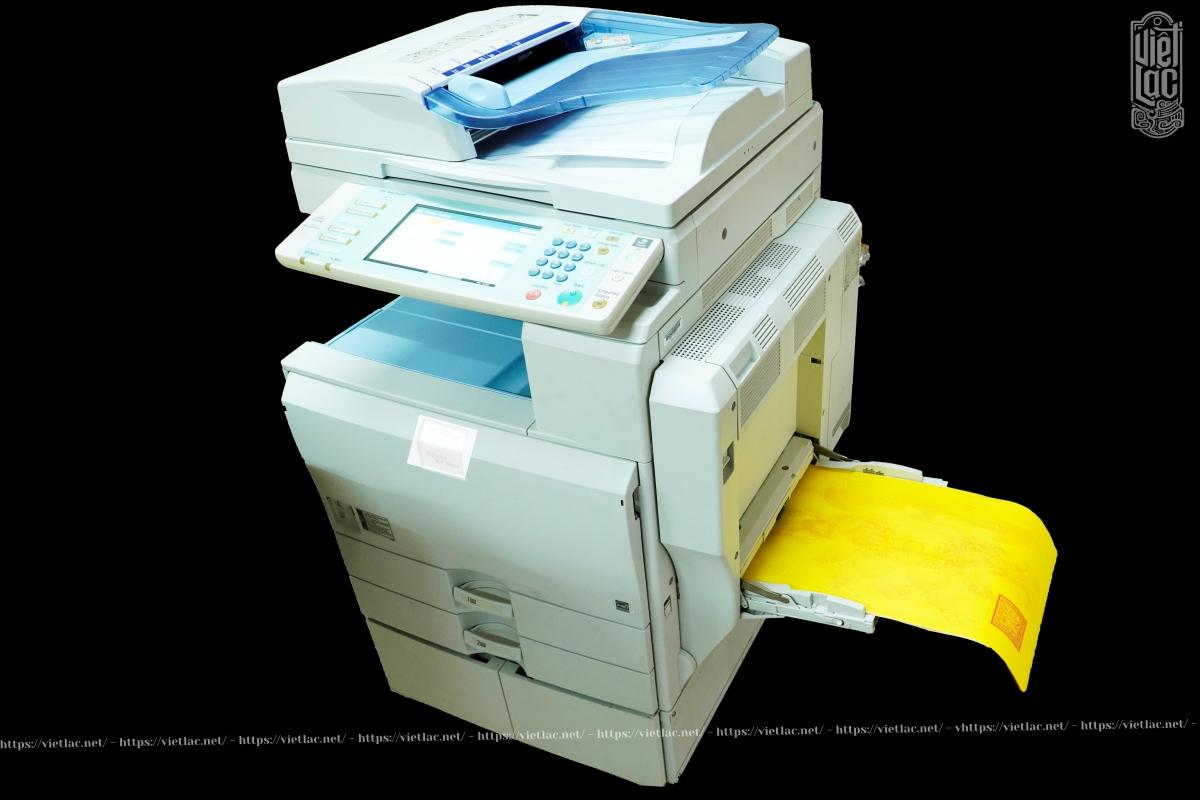 Máy in sớ chuyên dụng đa năng VLR5