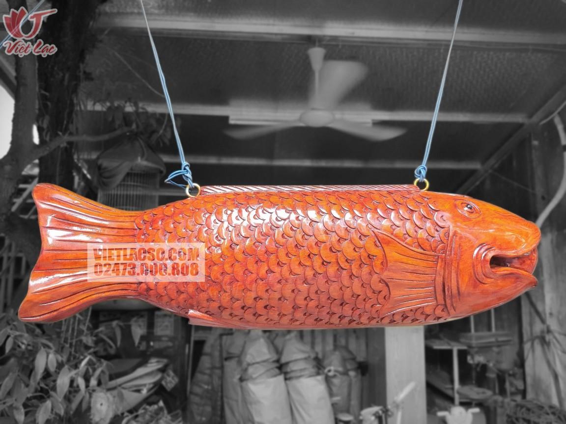 Mõ mộc ngư (cá Kình) gỗ mít 30*1m1