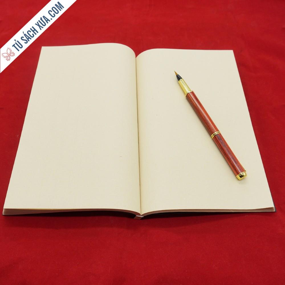 Sổ viết thư pháp cao cấp giấy xuyến chỉ