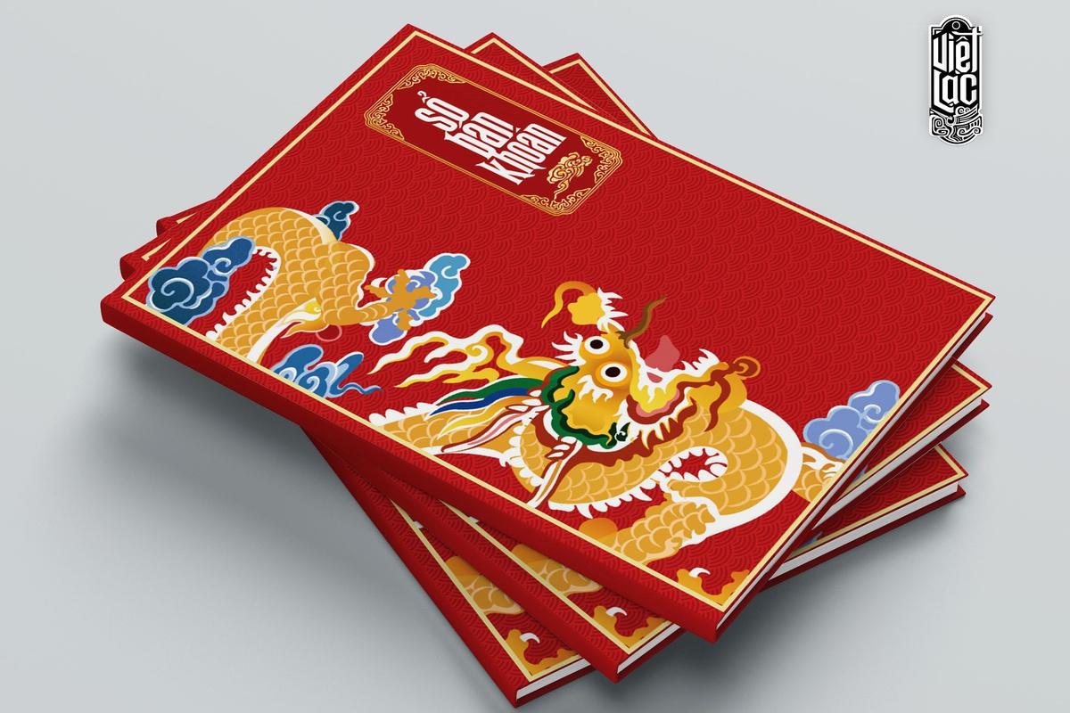 Sổ ghi bán khoán a4 168 trang bìa đỏ