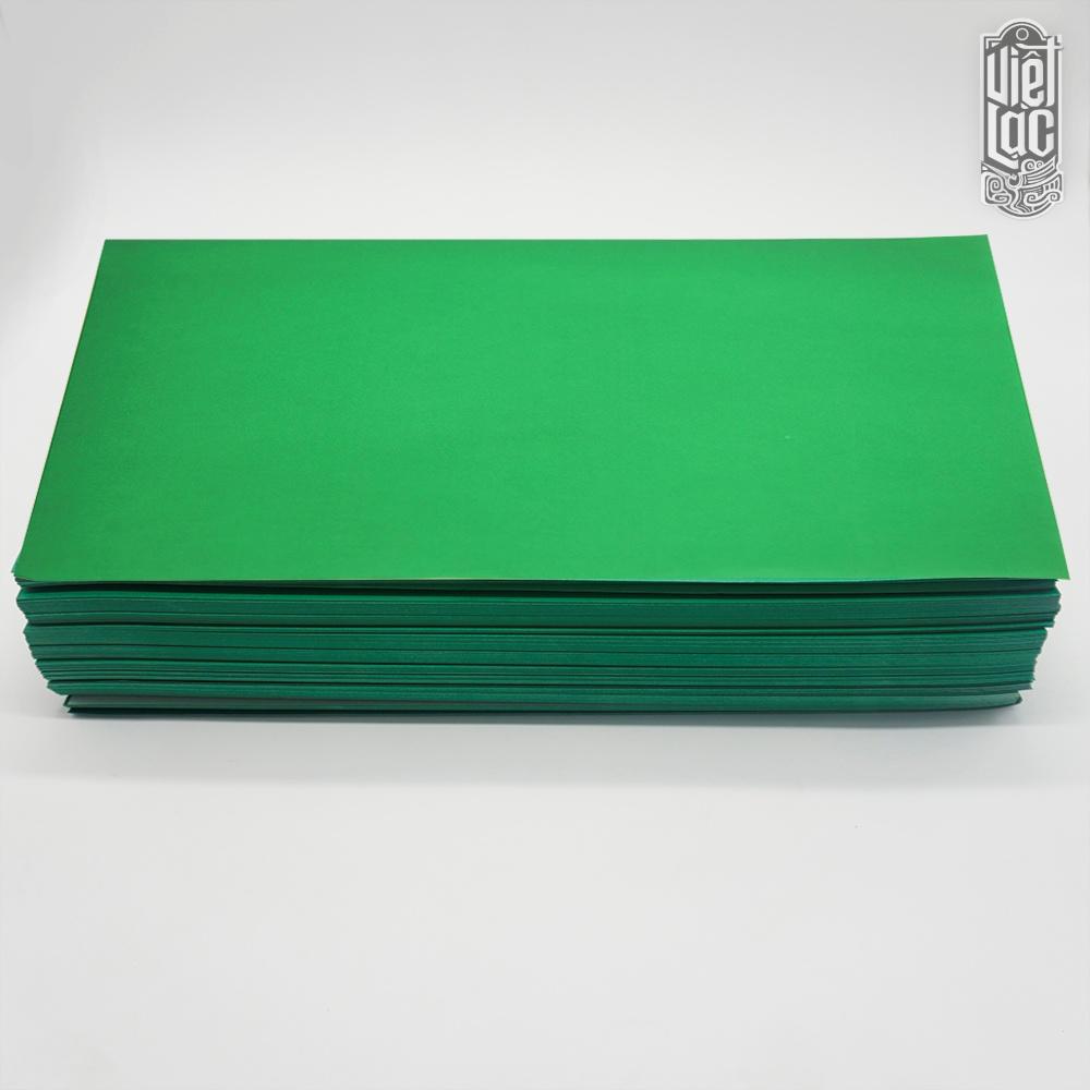 Giấy In Sớ Việt Lạc 1000D60 nền xanh lá