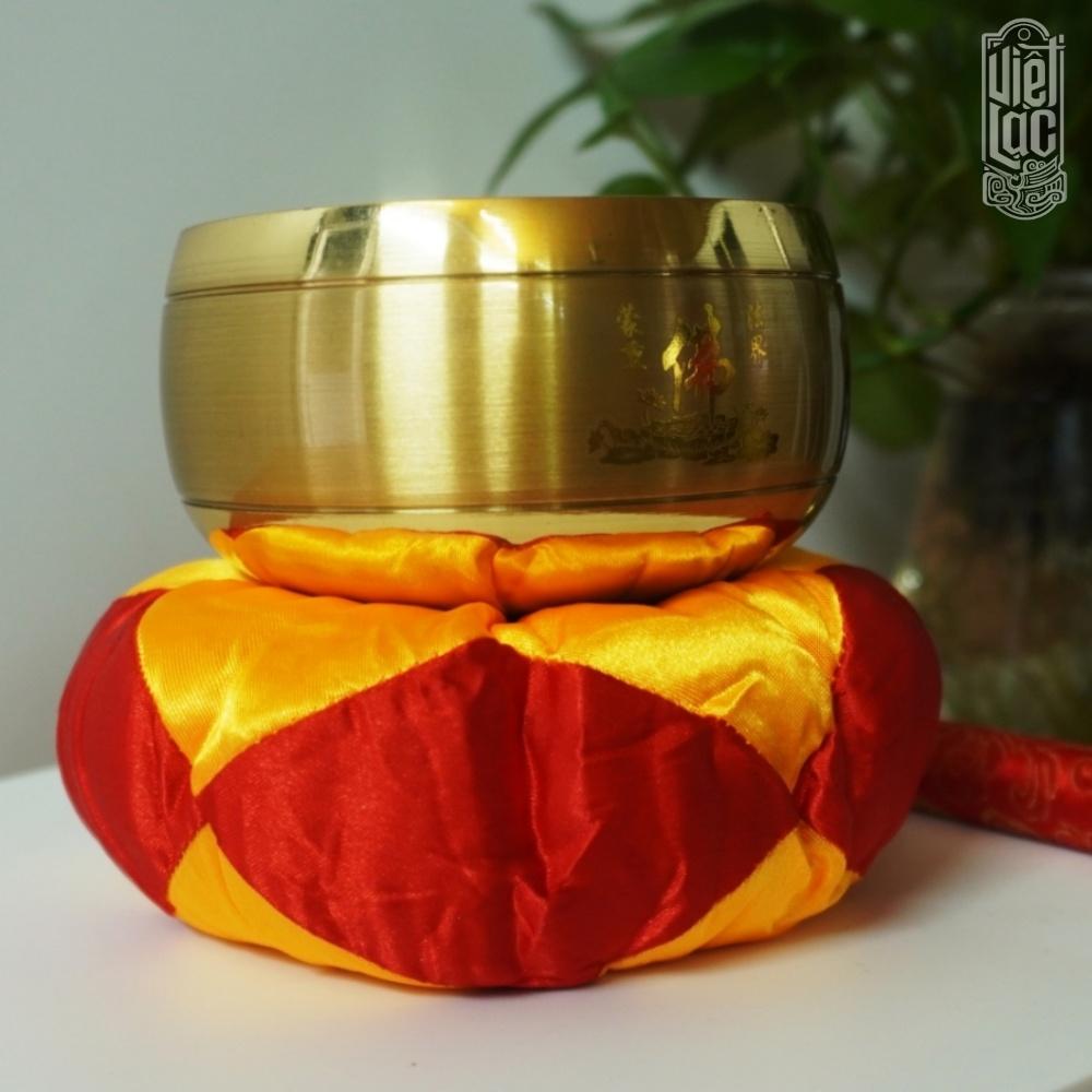 Chuông ĐL 4 inch đồng vàng