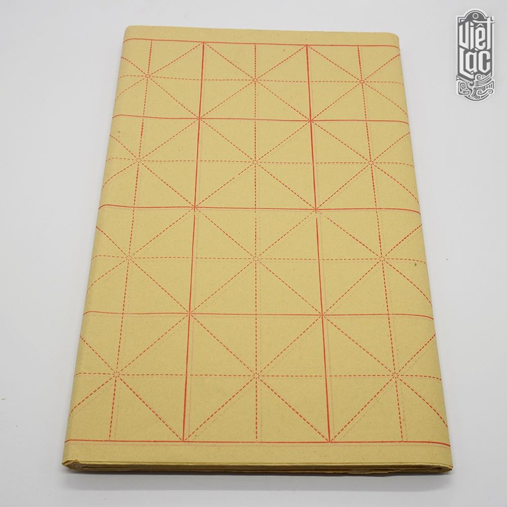 Giấy tập viết thư pháp Ô Mễ 9x9cm (28 ô) 70 tờ