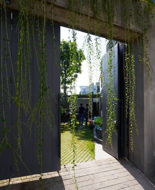Nhà Sài Gòn kín cổng cao tường nhưng ngập nắng, cây xanh