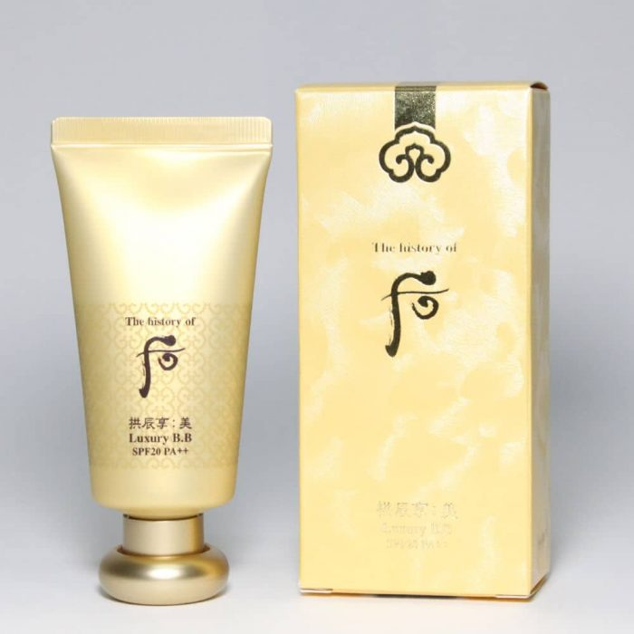 Kem Nền Whoo Mi Luxury Golden