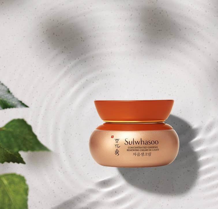 Mỹ phẩm Sulwhasoo Concentrated Ginseng Renewing Cream Light Ex