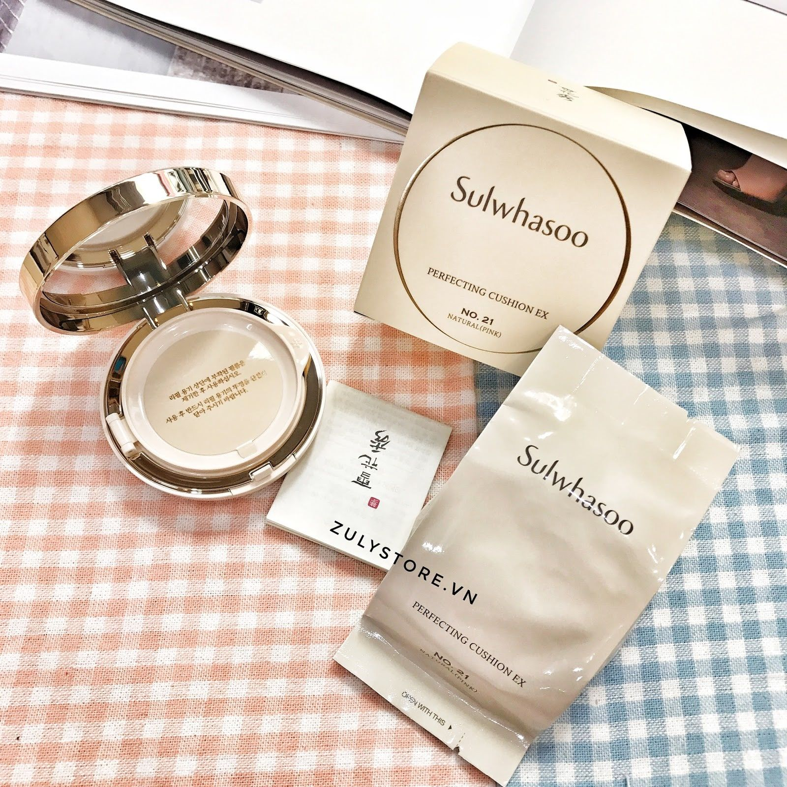 Sulwhasoo Perfecting Cushion Ex SPF