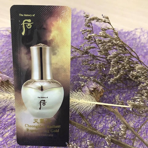 Tinh chất vàng Whoo Cheongidan Radiant Regenerating Gold Concentrate