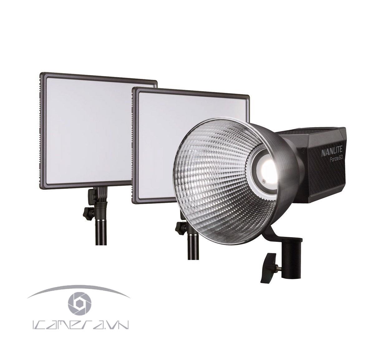 Bộ đèn led Nanlite Forza 60/ Lumipad 25 3Kit-P