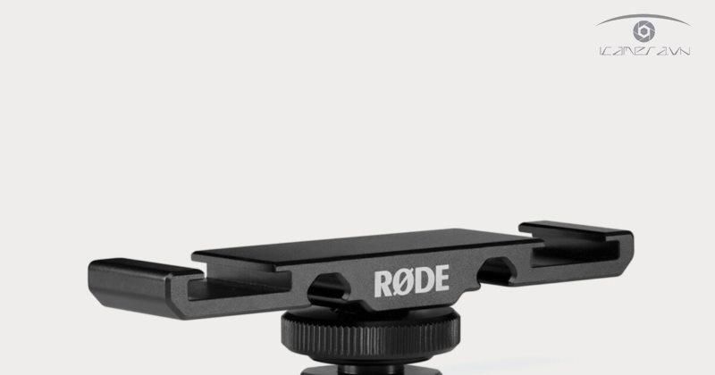 Rode DCS-1 Đế gài kép2 mic và phụ kiện cho máy ảnh DSLR Mirrorless