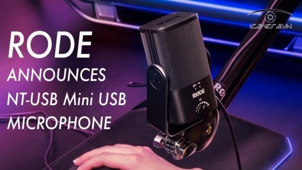 Micro thu am RODE NT-USB Mini gia re ha noi