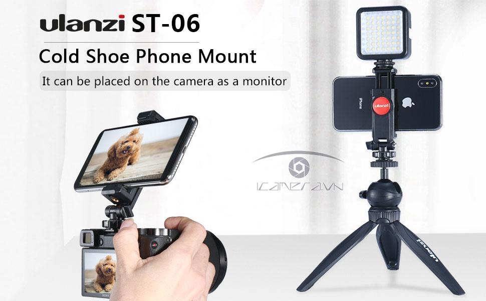 Gá kẹp điện thoại Ulanzi ST-06