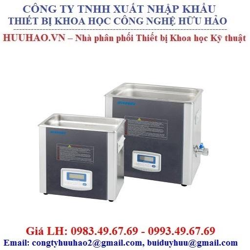 Bể rửa siêu âm có gia nhiệt WIGGENS 10Lít