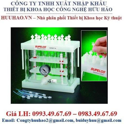 Bộ vi chiết pha rắn 12-Port Vacuum SPE Manifolds