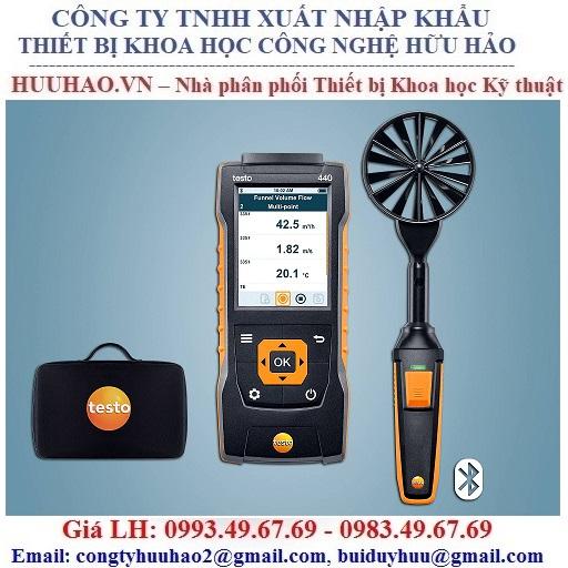 Bộ kít đo tốc độ gió Testo 440 100 mm Vane Kit