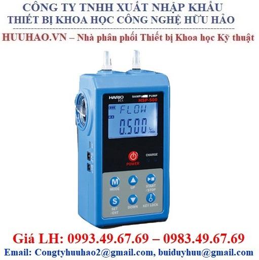 Bơm lấy mẫu khí cầm tay Shibata Bio HSP 500