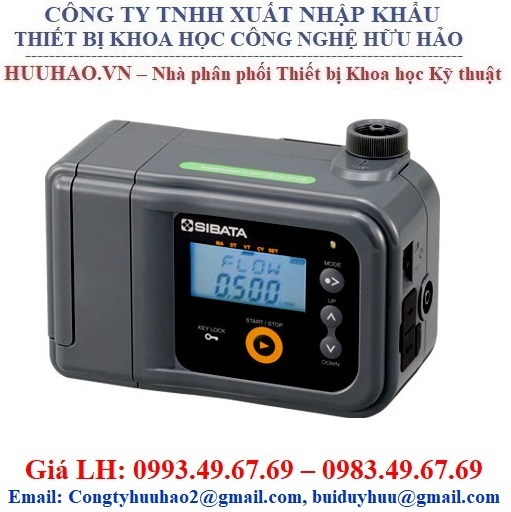 Bơm lấy mẫu khí cầm tay SIBATA MP-sigma500NII