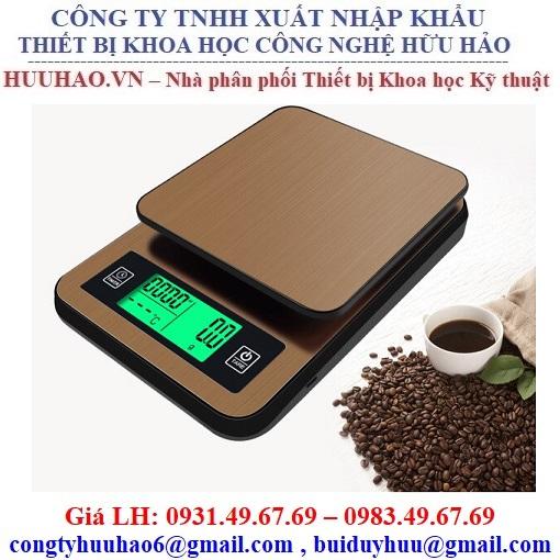 Cân điện tử pha Cafe 1kg (0.1g), 3kg (1g)