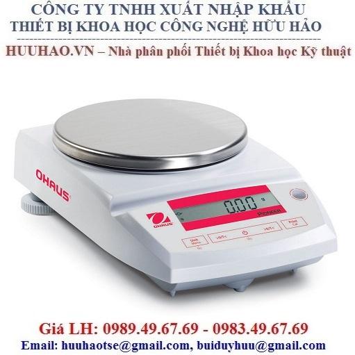 Cân điện tử 2 số lẻ OHAUS Model PA 4102