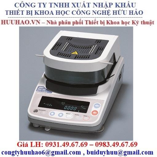 Cân sấy ẩm MX-50 AND – NHẬT BẢN