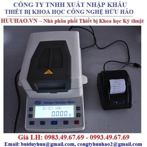 Máy đo độ ẩm các loại vật liệu bằng đèn Halogen XY-105W